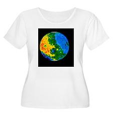 Topographic m T-Shirt