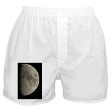 Waxing gibbous Moon Boxer Shorts