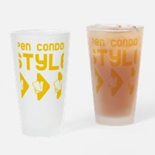 Open Condom Style Drinking Glass