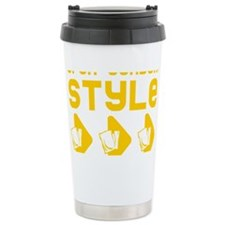 Open Condom Style Travel Mug