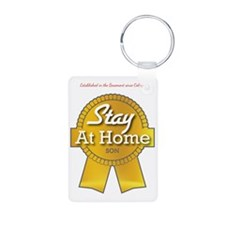 Stay at Home Son Keychains
