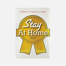 Stay at Home Son Rectangle Magnet