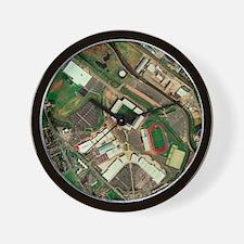 Wigan Athletic's JJB Stadium, aerial vi Wall Clock