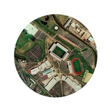 "Wigan Athletic's JJB Stadium, aerial v 3.5"" Button"