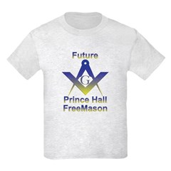 Future Prince Hall Mason Kids T-Shirt