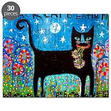 Black Cat Ate My MoonFlower! Puzzle