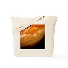 Voyager 1 image of the planet Jupiter Tote Bag