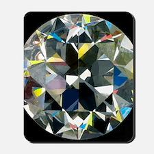 Cut and polished diamond Mousepad