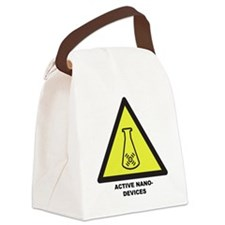 Active Nano-Devices Canvas Lunch Bag