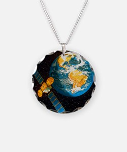 Artwork of a communication s Necklace