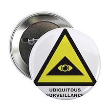 """Ubiquitous Surveillance 2.25"""" Button"""