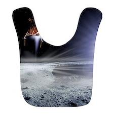 Apollo 11 Moon landing, computer artwork Bib