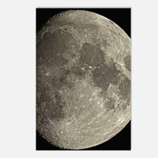 Waxing gibbous Moon Postcards (Package of 8)