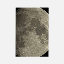 Waxing gibbous Moon Rectangle Magnet