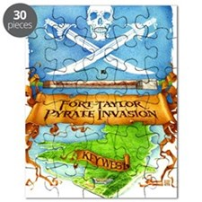 Fort Taylor Pyrate Invasion Puzzle