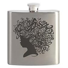 I Wear My Crown Flask