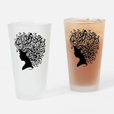 I Wear My Crown Drinking Glass