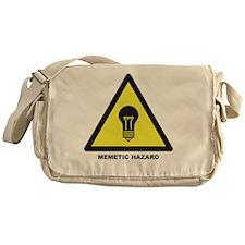 Memetic Hazard Messenger Bag