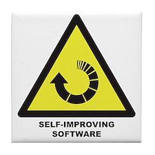 Self-Improving Software Tile Coaster