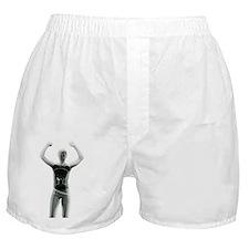 Woman with a Hula Hoop Boxer Shorts