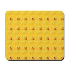 Rubber Duck Pattern Mousepad