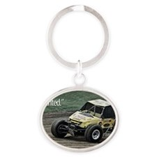 Nelson Planted Oval Keychain