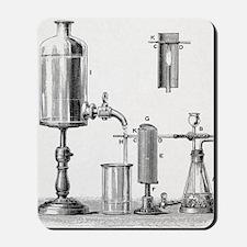 Arsenic detection, 19th century artwork Mousepad