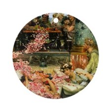 Alma-Tadema The Roses of Heliogabal Round Ornament