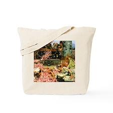 Alma-Tadema The Roses of Heliogabalus Tote Bag