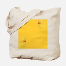Rubber Duck, Yellow, Tote Bag