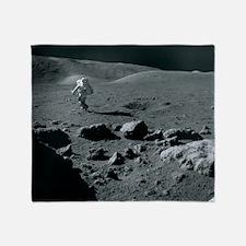 Apollo 17 astronaut Throw Blanket