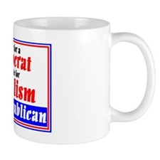 A Vote for a Democrat is a Vote for Soc Mug