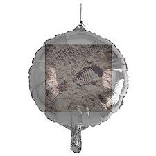 Apollo 11 footprint on Lunar soil Balloon