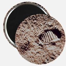 Apollo 11 footprint on Lunar soil Magnet