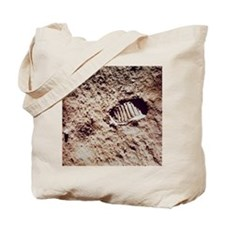 Apollo 11 footprint on Lunar soil Tote Bag