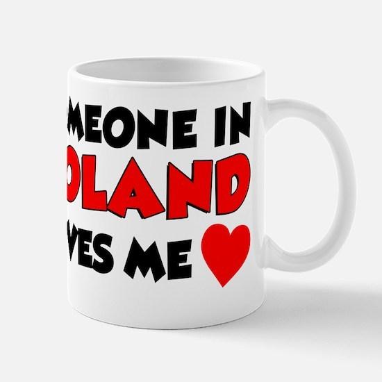 Someone In Poland Loves Me Mug