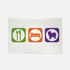 Eat Sleep Lagotto Rectangle Magnet (100 pack)