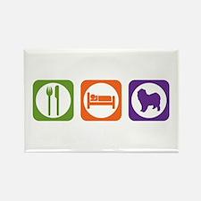 Eat Sleep Lagotto Rectangle Magnet