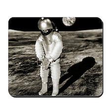 Early space suit design, conceptual imag Mousepad