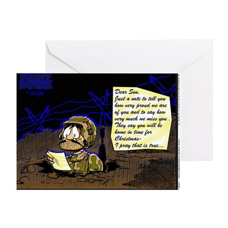LETTER FROM HOME Greeting Card By Admin CP811208