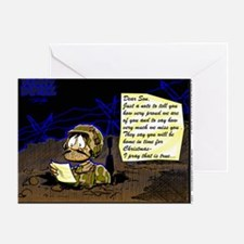 LETTER FROM HOME Greeting Card