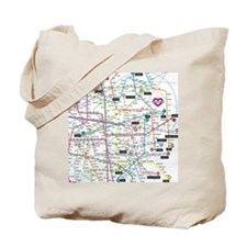 Love map Tote Bag