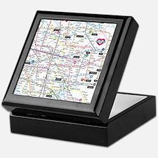 Love map Keepsake Box