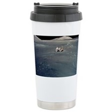 Apollo 17 astronauts Travel Coffee Mug