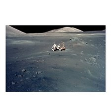 Apollo 17 astronauts Postcards (Package of 8)