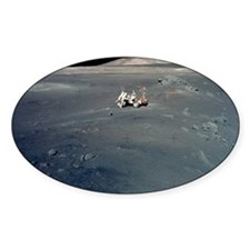 Apollo 17 astronauts Decal