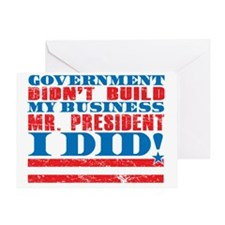 Government didnt my business I did Greeting Card