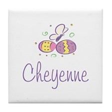 Easter Eggs - Cheyenne Tile Coaster