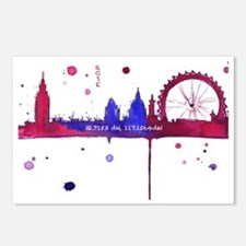 London Melting Postcards (Package of 8)