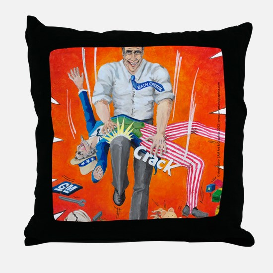 Romney_Mouse Pad Throw Pillow